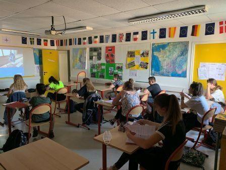ASSR 1: passage de l'ASSR1 pour nos élèves  de  5 ieme