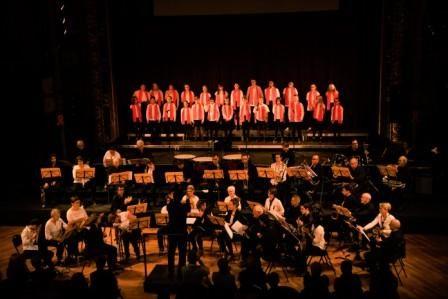 Notre chorale chante au Grand Kurssal de Besançon